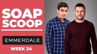 Emmerdale Soap Scoop! Cain keeps a secret from Aaron