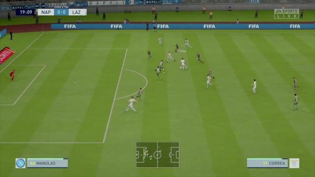 SSC Napoli - Lazio Rome : notre simulation FIFA 20 (Serie A - 38e journée)
