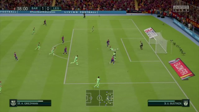 FC Barcelone - Leganés sur FIFA 20 : résumé et buts (Liga - 29e journée)