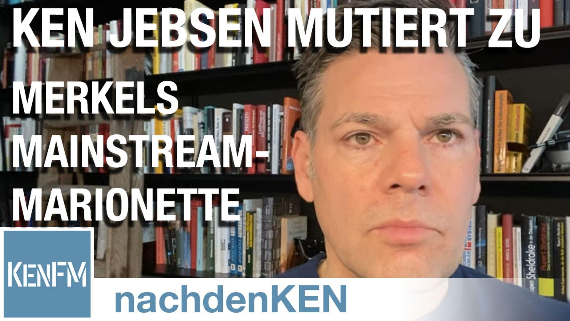 Ken Jebsen mutiert zu Merkels Mainstream-Marionette und wirbt offensiv für ihre Politik