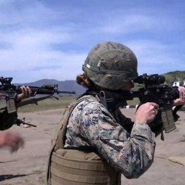 1st Marine LG - Combat Marksmanship Program - Marine Corps Base California, May 7, 2020