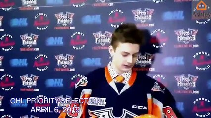 Ashley HomeStore OHL Highlight Reel | Brennan Othmann | Flint Firebirds