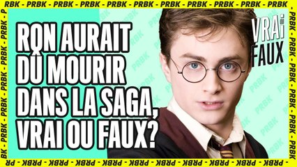 Harry Potter : le Vrai ou Faux pour les vrais Potterheads