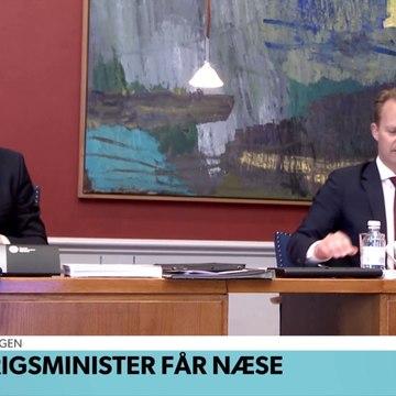 COVID-19; Udenrigsminister får næse | TV Avisen | DRTV @ Danmarks Radio