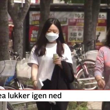 COVID-19; Sydkorea lukker igen ned | Nyhederne | TV2 Danmark