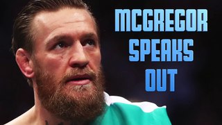 Conor McGregor Speaks Out Against Racial Injustice