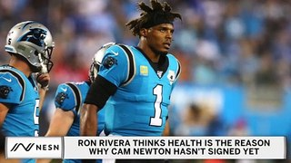 Ron Rivera Thinks He Knows Why Cam Newton Still Unsigned