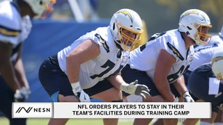 NFL Orders Players To Stay In Their Team's Facilities During Training Camp
