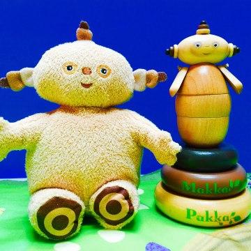 Makka Pakka Wooden Stacking Toy In The Night Garden