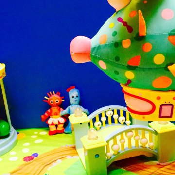Pinky Ponk Easter Egg In The Night Garden Toys