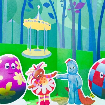 In The Night Garden HaaHoos Iggle Piggle Activity Book