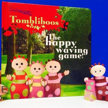 In The Night Garden Tombliboos Happy Waving Game Book