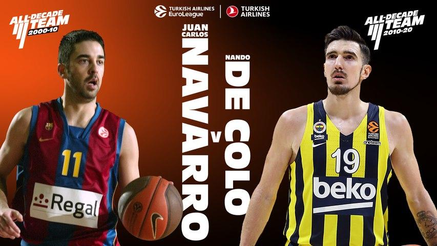 All-Decade head-to-head: Navarro vs. De Colo