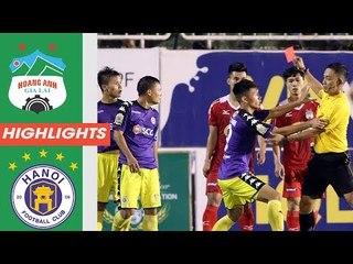 HAGL - Hà Nội FC | 4 bàn thắng, 1 thẻ đỏ và 90 phút để đời | Cúp Quốc gia 2018 | HAGL Media