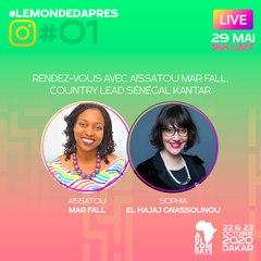 #LeMondeDAprès épisode 1 :  avec Aïssatou Mar Fall, Country Lead Sénégal Kantar