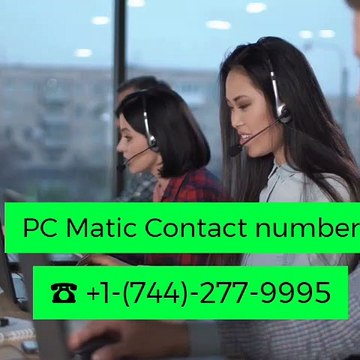 ☎+1-(744)-277-9995 PC Matic Contact Number