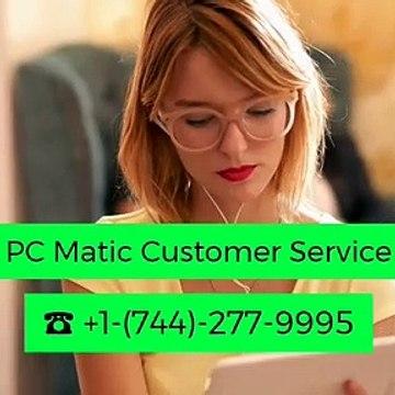 ☎+1-(744)-277-9995 PC Matic Customer Service