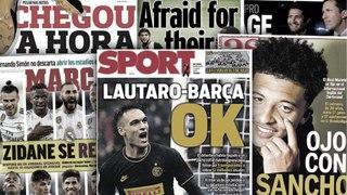 Accord trouvé entre Lautaro Martinez et le Barça, la surprenante alternative de MU en cas d'echec du dossier Sancho