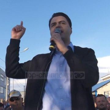 Top News - Basha miting në Durrës/ Rama-po rrezikon jetën e qytetarëve