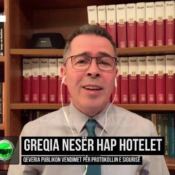 Greqia nesër hap hotelet/ Qeveria publikon vendimet për protokollin e sigurisë