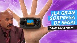 ¡Sega presenta Game Gear Micro! Así es la nueva consola