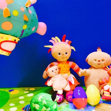 In The Night Garden Surprise Easters Eggs Pinky Ponk
