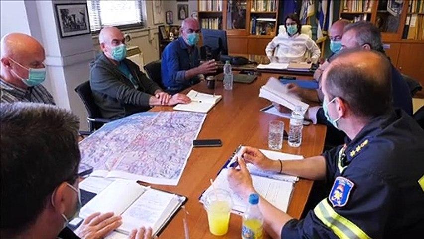 Τεχνική σύσκεψη για την αντιπυρική περίοδο στη Λιβαδειά