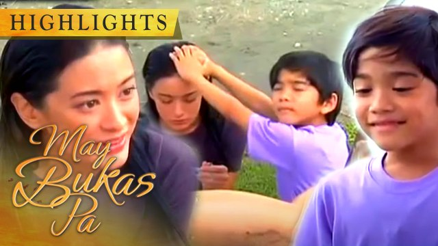 Ina introduces herself to Santino | May Bukas Pa
