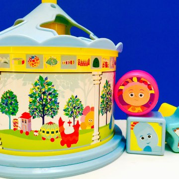 In The Night Garden Spin Shape Gazebo Sorter Toy