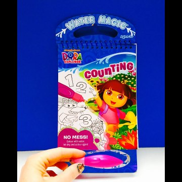 Dora The Explorer Water Magic Aquadoodle Coloring Book Toy Nickelodeon