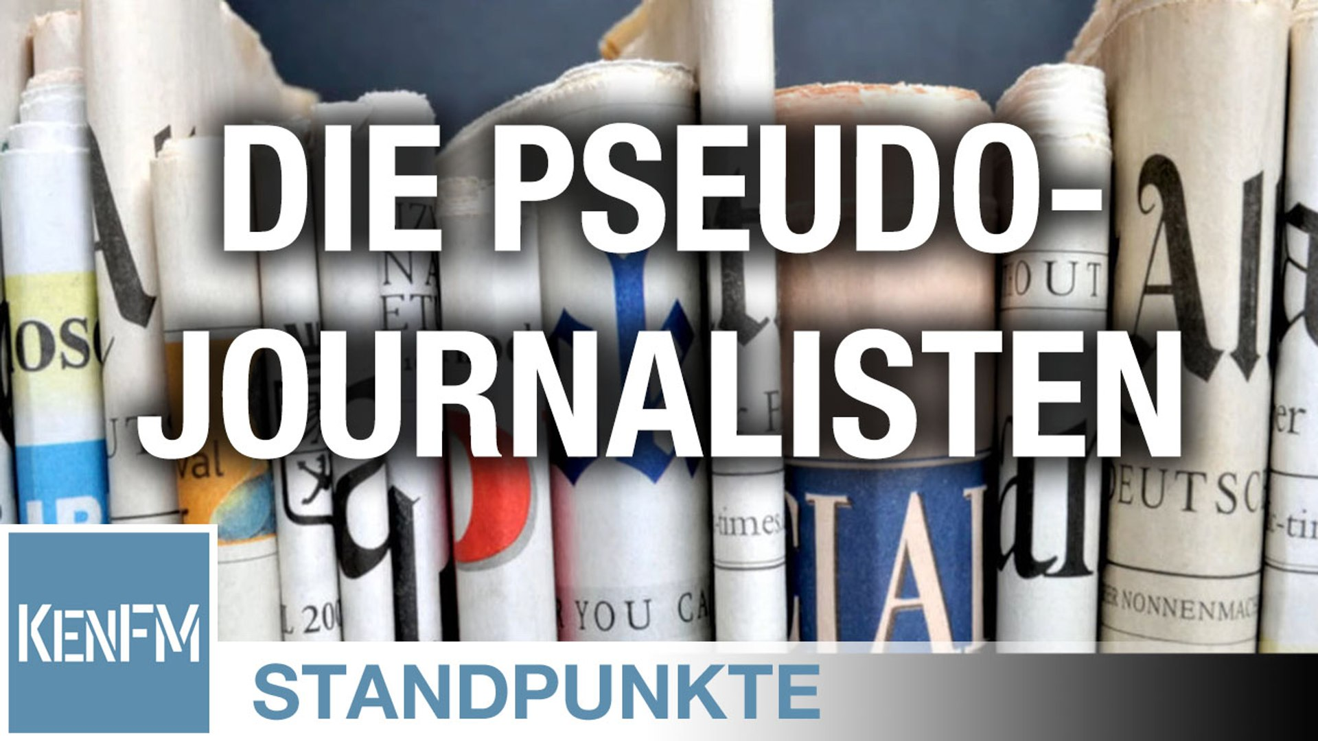 Die Pseudo-Journalisten • STANDPUNKTE