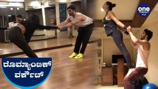 ಬಾಯ್ ಫ್ರೆಂಡ್ ಜೊತೆ  ಸುಶ್ಮಿತಾ ಸೇನ್ ಮಾಡ್ತಿರೋ  ರೊಮ್ಯಾಂಟಿಕ್ ವರ್ಕೌಟ್ ನೋಡಿ | Sushmitha | Workout