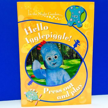 Hello Iggle Piggle Press Out and Play Activity Book In The Night Garden