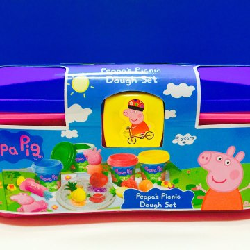 Peppa Pig Picnic Play Doh Set Toy Opening