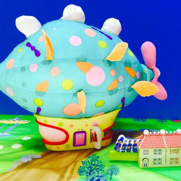 """Soft 'N Cosy World Pinky Pink Toy and Pontipines """"Oh Dear"""""""