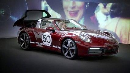 New Porsche 911 Targa 4S Heritage Design Edition