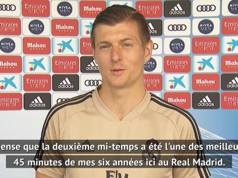 Real Madrid - Kroos se remémore la Duodécima remportée face à la Juve