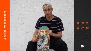 Setups: Jake Wooten's Custom Complete Skateboard