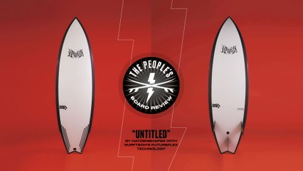 """Surftech X Haydenshapes' """"Untitled"""" is a Surfy Swiss Army Knife for Almost All Conditions"""