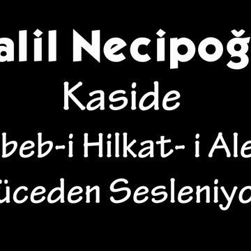 Halil Necipoğlu Kaside Sebeb-i Hilkat-i Alem Yüceden Sesleniyor