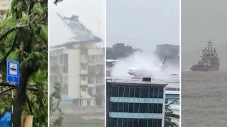 As cyclone Nisarga made landfall on June 03