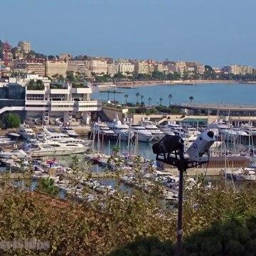 Cannes - Panoramic View from Château de la Castre