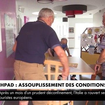 Coronavirus - Dès demain, les visites dans les Ehpad vont être assouplies pour les proches de résidents - VIDEO