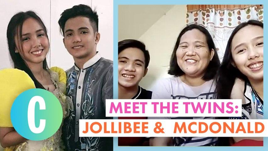 Meet High School Graduates And Twins, Jollibee And McDonald!