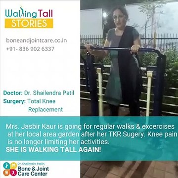 Walking Tall Again TKR With Robonavigation in Thane, Mulund