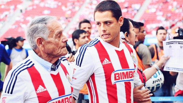 Chicharito fond en larmes sur Instagram en parlant de son grand-père, tout juste décédé | Oh My Goal