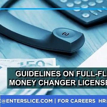 What is FFMC License?|Full-fledged money changer license|Enterslice