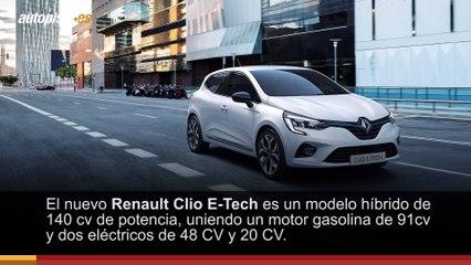 Renault Clio y Captur E-Tech: así son los nuevos coches híbridos