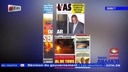 REPLAY - Revue de Presse - Pr : MAMADOU MOUHAMED NDIAYE - 04 Juin 2020