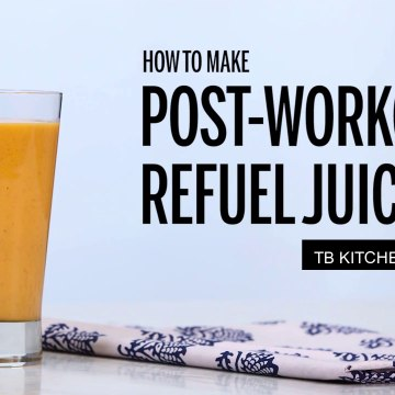 Post workout refuel juice l How to make l New Recipes l